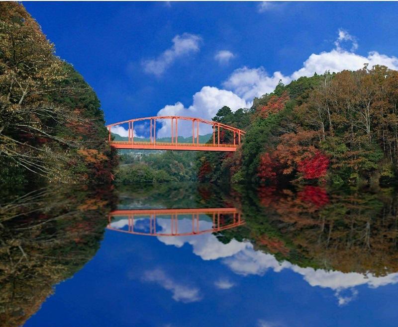 撮影:日向喜一郎  「亀山湖です」  撮影場所:君津市 亀山湖
